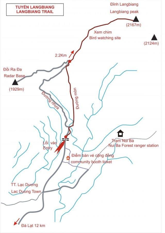Bản đồ Lang Biang