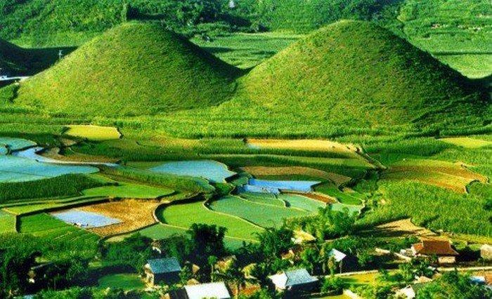 Phong cảnh yên bình của Hà Giang