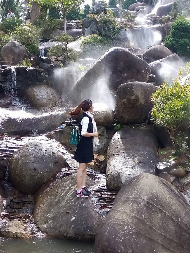 Checkin tại khu du lịch thung lũng vàng